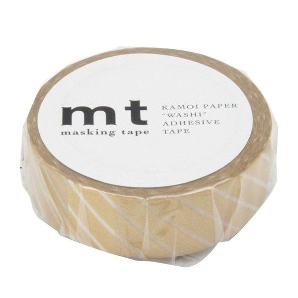 マスキングテープ mt 1P ストライプ ゴールド 幅15mm