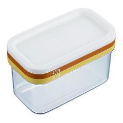5%OFFクーポン対象商品 バターカッター バターカッティングケース 日本製 ( バター入れ バターホルダー 保存容器 キッチンツール キッチン小物 バターカット 5g 10g 便利グッズ バター 容器 バター薄切り 保存ケース フタ付 ケース ) クーポンコード:V6DZHN5