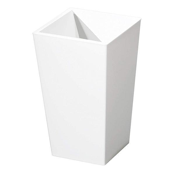 ゴミ箱 ふた付き ユニード カクス ホワイト