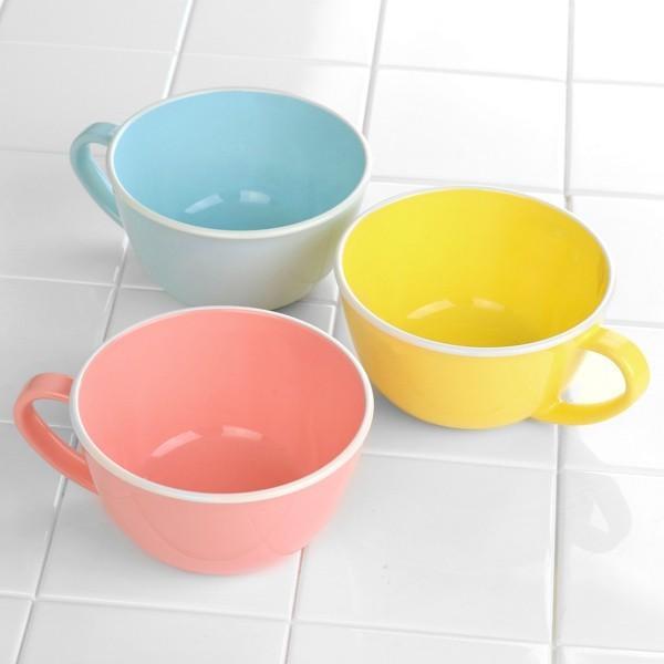スープカップ 430ml キッチンスタイル 洋食器 合成漆器 ライトピンク