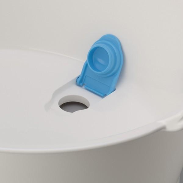 ウォッシュタブ 12L タライ 洗濯用 排水栓付き 楕円形 オーバル型 洗い桶 持ち手付き