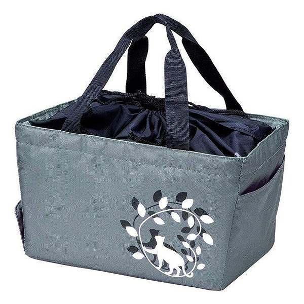 レジカゴバッグ シャ・ブラン クールバッグ 20L 折りたたみタイプ ( エコバッグ 買い物バッグ 保冷バッグ レジかごバッグ ショッピングバッグ 保冷ショッピングバック 買い物袋 レジバッグ エコロジーバッグ 買い物鞄 レジかご型 )