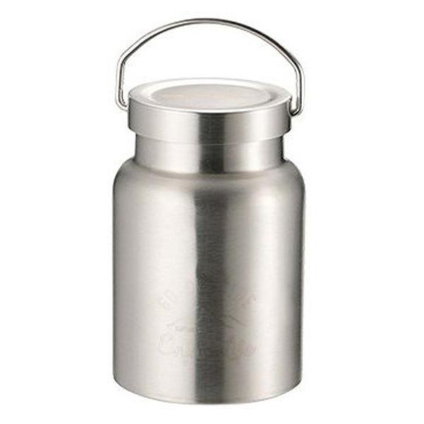 保温弁当箱 スープジャー モンテ HDフードポット 400ml 保温 保冷 シルバー