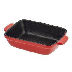 グラタン皿 角型 23cm フッ素加工 皿 プレート 耐熱皿 陶磁器 食器 ( オーブン 電子レンジ 対応 洋食器 耐熱 角皿 耐熱容器 耐熱 フッ素 ふっ素 加工 オーブン対応 電子レンジ対応 トースタの画像