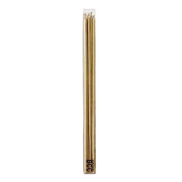 10%OFFクーポン対象商品 キャンドル パーティーキャンドル 18cmスリムキャンドル シルバーカラー ゴールド  クーポンコード:KZUZN2T
