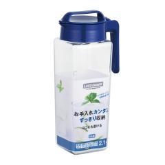 5%OFFクーポン対象商品 ピッチャー 2.1L 冷水筒 耐熱 横置き 水差し ( ジャグ ポット 冷水ポット 麦茶ポット スクリュー式 ジャグ 麦茶入れ 無地 プラスチック ) クーポンコード:V6DZHN5