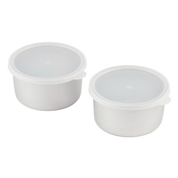 5%OFFクーポン対象商品 製氷カップ 2個入り かき氷用 アルミ製 ( カキ氷用 かき氷用 製氷皿 かき氷 カキ氷 ) クーポンコード:V6DZHN5