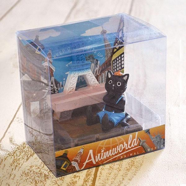 スマホスタンド スマホホルダー 携帯ホルダー アニマールド アニマル 動物 クロネコ ( スマホ スタンド ホルダー スマートフォンスタンド 携帯スタンド かわいい 卓上 猫 ねこ ネコ パンダ ぱんだ シロクマ しろくま インコ 鳥 )