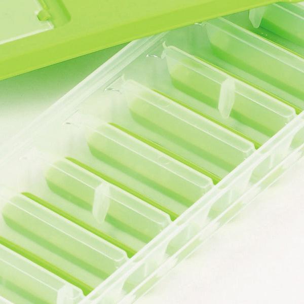 5%OFFクーポン対象商品 製氷皿 スティック状 アイストレー フタ付き 氷が取り出しやすい ( 製氷器 製氷型 製氷トレイ アイストレイ アイストレー 製氷トレー アイススティックメーカー スティック氷 氷柱 蓋付き ) クーポンコード:V6DZHN5