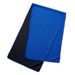 5%OFFクーポン対象商品 タオル 冷感タオル マフラータオル ひんやり長持ちタオル ブルー ( 冷たい 冷感 クールタオル タオルマフラー フェイスタオル スポーツタオル 水に濡らす 冷たくなる 水 濡らす 熱中症 暑さ 対策 スポーツ アウトドア キャンプ 運動会 ) クーポンコード:V6DZHN5