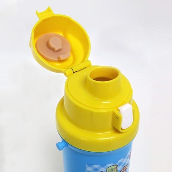 水筒 直飲み プラスチック ドラえもん ワンタッチボトル 600ml 子供( 子供用水筒 幼稚園 保育園 プラスチック製 日本製 子供用 プラボトル キッズ プラスチックボトル 遠足 運動会 どらえもん キャラクター )