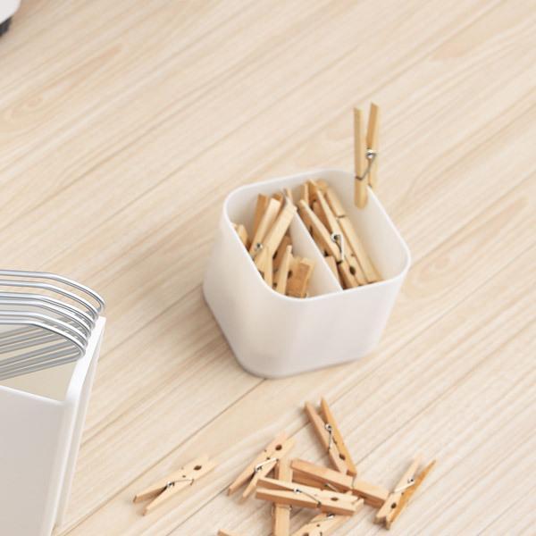 小物ケース SS 白 ホワイト S&W サンバッサ 小物入れ プラスチック