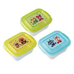 離乳食ケース M 3個入り アンパンマン 保存容器 ベビー( 電子レンジ対応 食洗機対応 離乳食 持ち運び 冷凍 離乳食食器 冷凍保存 小分け 弁当箱 )