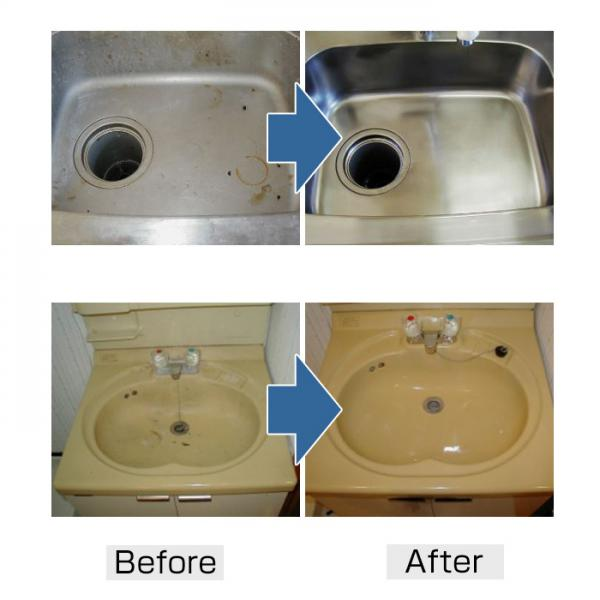 水垢用洗剤 250ml 磨き職人 技職人魂 シンク掃除 キッチン 業務用洗剤