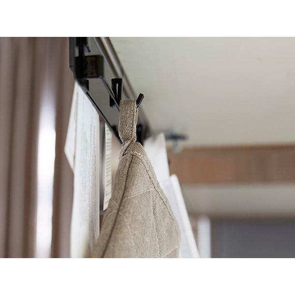 5%OFFクーポン対象商品 戸棚下収納 マグネットボード 戸棚下フック付き tower タワー 山崎実業 ホワイト クーポンコード:V6DZHN5