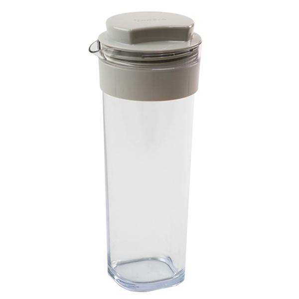 冷水筒 スリムジャグ 1.1L 横置き 縦置き 耐熱 日本製 当店オリジナル商品 ベージュ