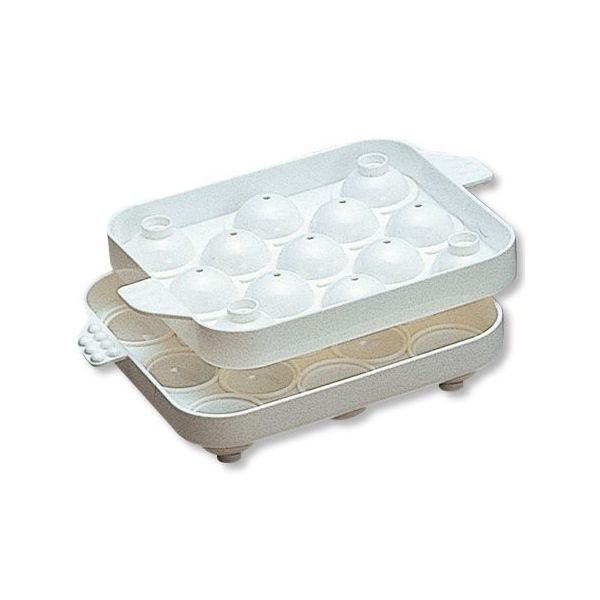 5%OFFクーポン対象商品 製氷皿 まるまる氷 小 2個組  クーポンコード:V6DZHN5