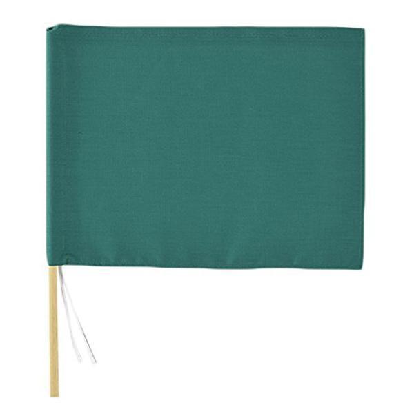 手旗 グリーン 30x42cm