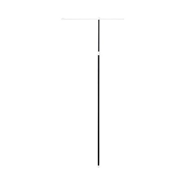 ノボリ旗用 ポール ブラック 伸縮式