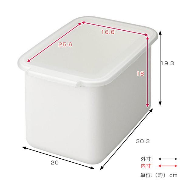 米びつ 6kg システムキッチン 引き出し用 Soroelusmart ソロエルスマート ライスボックス ホワイト ( ライスストッカー 米櫃 保存 収納 5kg こめびつ 米 キッチン 引き出し )