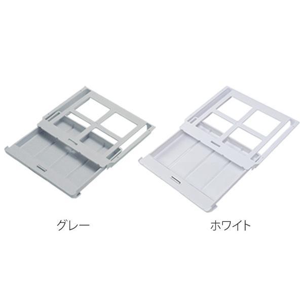 取り付けできる引き出し テンダーワイド 仕切り板付き 日本製 ホワイト( 机 引き出し デスク 下 引出し 収納 トレー デスク収納 ペン はさみ 文房具 カトラリー 整理整頓 )
