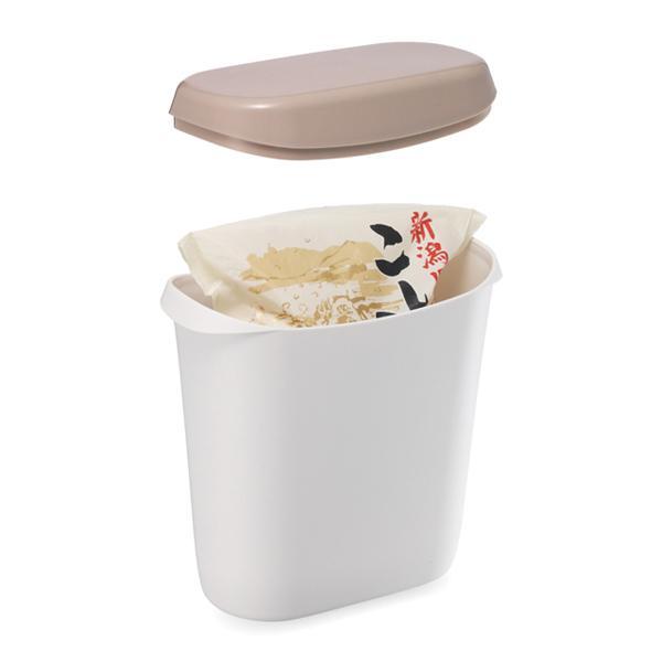 米びつ 2kg お米袋そのまま保存ケース ピンク