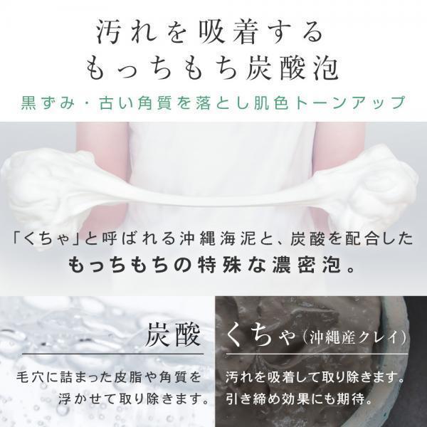 洗顔 泡 炭酸 | PLuS(プリュ) カーボニック クリーニング パック 150g / 洗顔フォーム