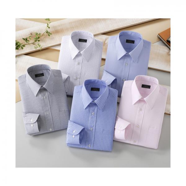 銀座・丸の内のOL100人が選んだワイシャツセット(カラー系)