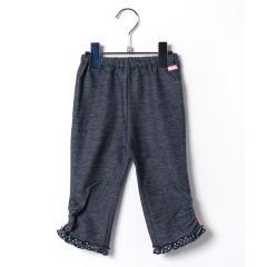 ドットフリル♪8分丈パンツ(70~90cm)