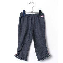 ドットフリル♪8分丈パンツ(100~110cm)