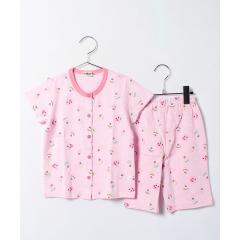 スイーツキャビットちゃん♪前開き半袖パジャマ(6分丈パンツ)(80~110cm)