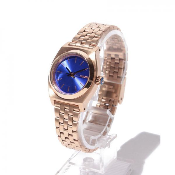 NX SMALL TIME TELLER ROSE GOLD / COBALT