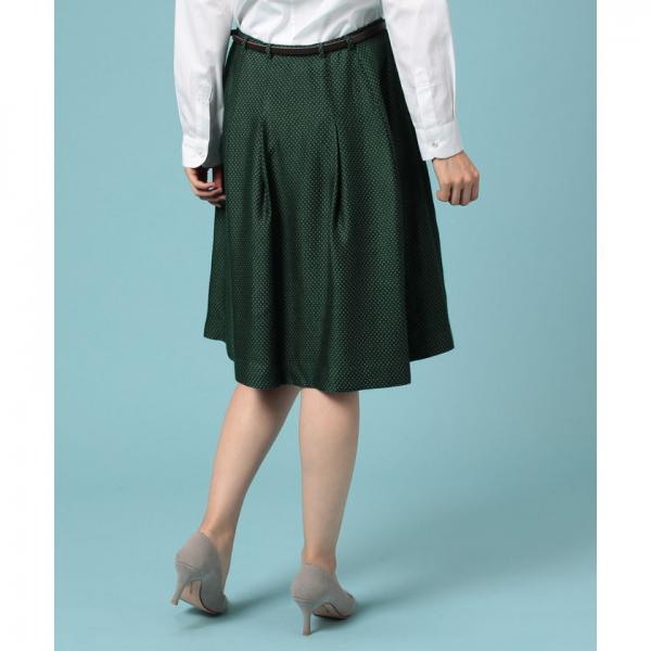 小紋ジャカードスカート