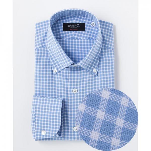 【日本製】ギンガムチェックシャツ【お取り寄せ商品】
