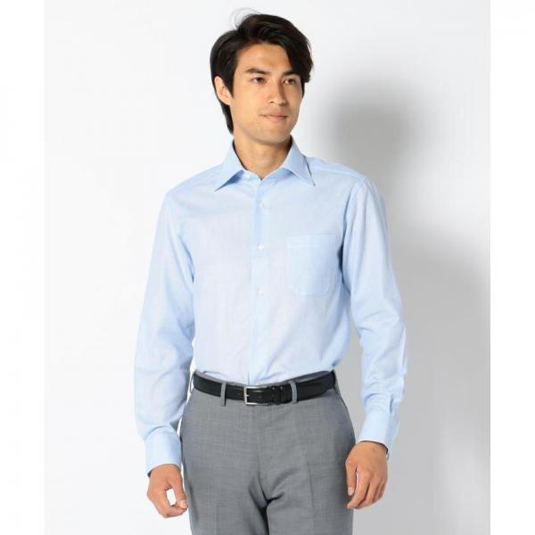 【からみ織り】【日本製】コットンカラミシャツ【お取り寄せ商品】