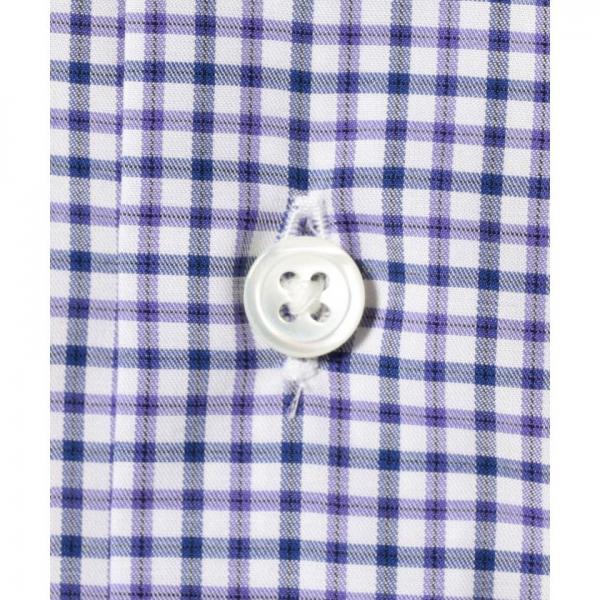 【日本製】【イージーケア】チェック半袖シャツ【お取り寄せ商品】