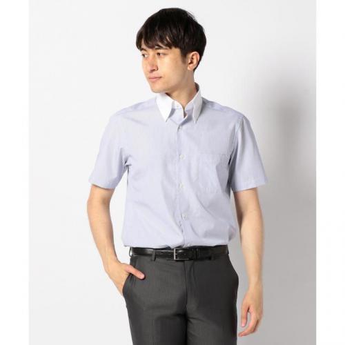 【日本製】半袖クレリックシャツ【お取り寄せ商品】