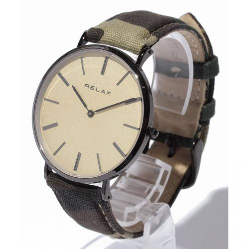 RELAX リラックス NIMES CAMO ニームカモ メンズ腕時計
