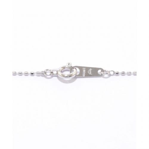 しずく型ダイヤモンドネックレス( WG)