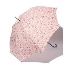 EF73 小花柄スカラップ長傘(雨傘)