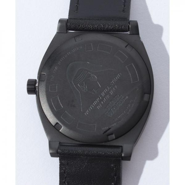 TIME TELLER LEATHER SW: KYLO BLACK