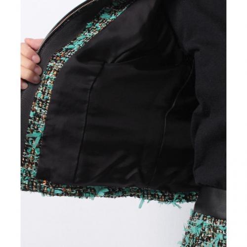 マルチヤーンツィードジャケット