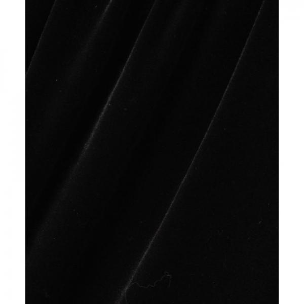 ベロアギャザーミディスカート