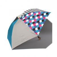 【+RING】カラーブロック折りたたみ傘