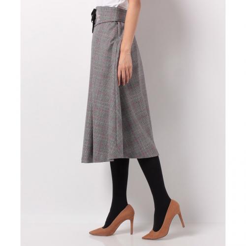 【美人百花 10月号掲載】刺繍フレアースカート
