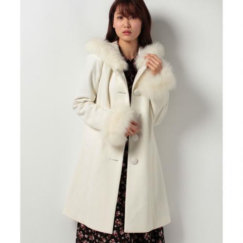 コート レディース アウター コート Rvate フード付き コート ロング丈コート ベージュ|rvate ...