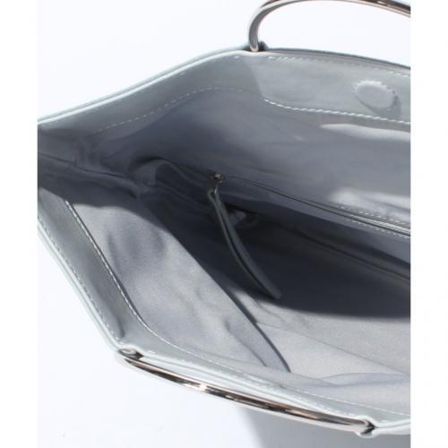 3wayメタルリングハンドルバッグ