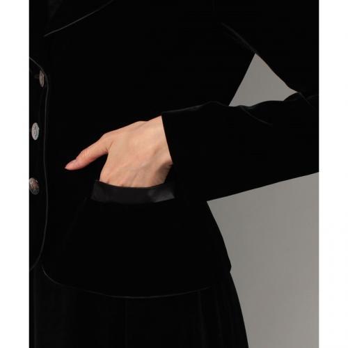 ソフトレーヨンベルベットジャケット