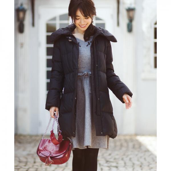 【美人百花 12月号掲載】スパンコールVネックワンピース