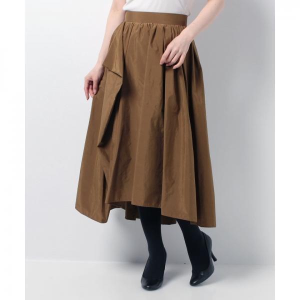バックロングボリュームスカート